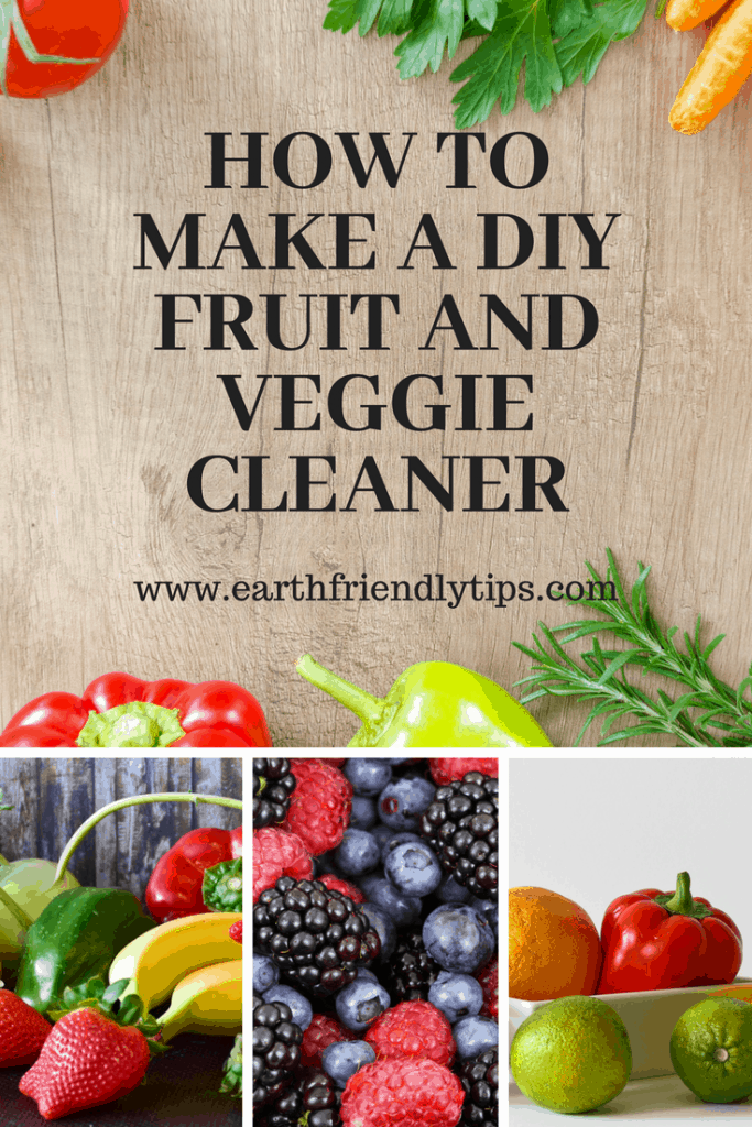 DIY Fruit and Veggie Cleaner