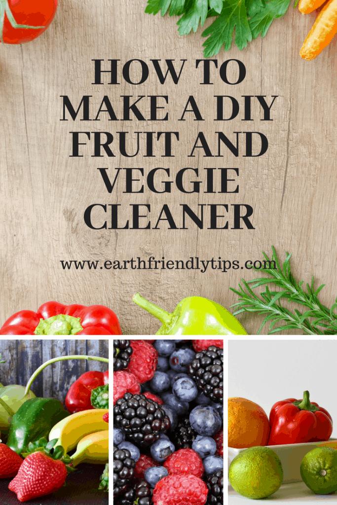 DIY Fruit and Veggie Cleaner
