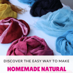 Easy Way to Make Homemade Natural Dye