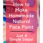 How to make homemade natural face paint