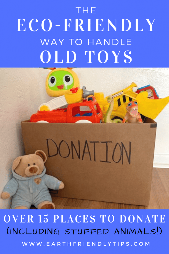 Discover 15 places you can donate toys to help keep them out of the landfill and get them into the hands of children who need them.