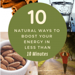 Learn how to get energy naturally and quickly with these natural energy boosters.