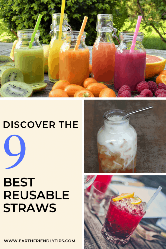 Discover the 9 best reusable straws to meet all of your needs