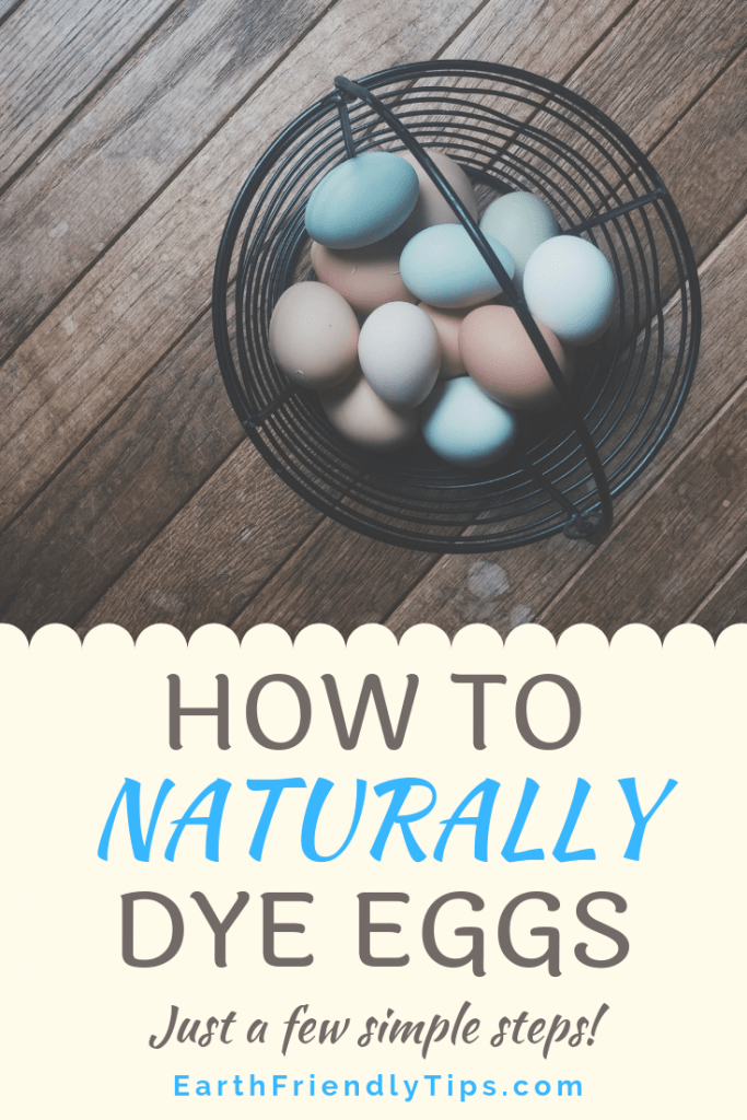 Learn the simple steps necessary to naturally dye eggs