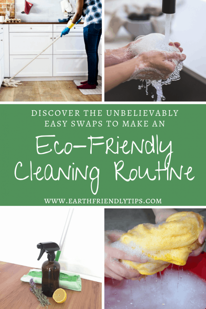 Discover the five simple swaps you can make to create an eco-friendly cleaning routine
