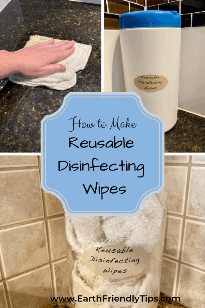 Discover the easy steps to make reusable disinfecting wipes.
