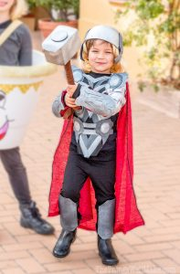 DIY Thor Halloween costume