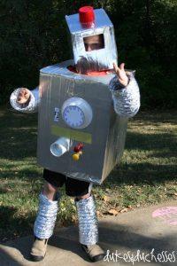 Robot DIY Halloween costume