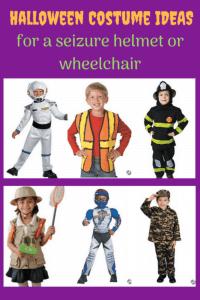 DIY Halloween costumes for seizure helmets