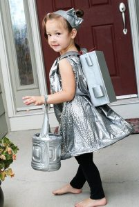 DIY Space Girl Costume