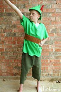 DIY Peter Pan Halloween costume