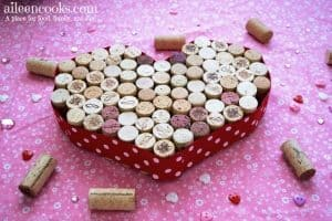 Upcyced wine cork trivet