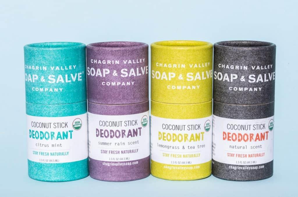 Chagrin Soap & Salve Natural Deodorant