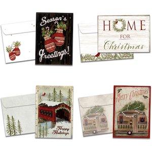 Tree-Free Greetings Christmas cards